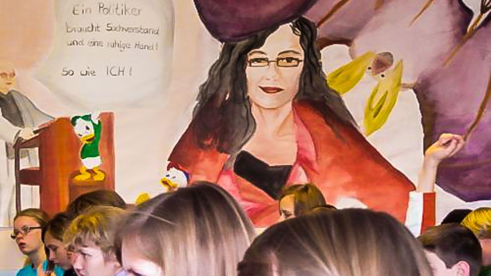 Literatur Im Gespräch Schüler Schreiben Gedichte Mit